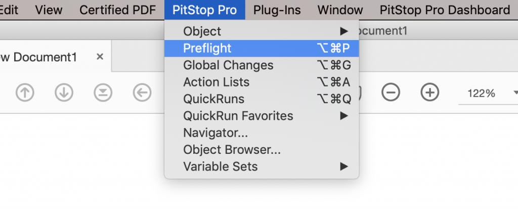 Enfocus PitStop Pro Preflight