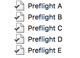 Enfocus PitStop Server Preflight Profiles